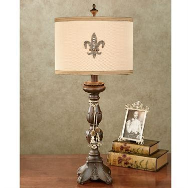 109 best a future home fleur de lis lighting images on pinterest christa fleur de lis table lamp mozeypictures Gallery