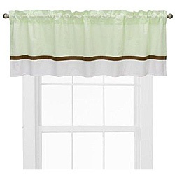 @Overstock - Give your nursery decor a new look with colorful window treatments  Metro valance by Bacati features lime and white background separated by a chocolate band  Nursery window treatment is made of 100-percent cottonhttp://www.overstock.com/Baby/Bacati-Metro-Lime-White-Chocolate-Valance/4075538/product.html?CID=214117 $20.99