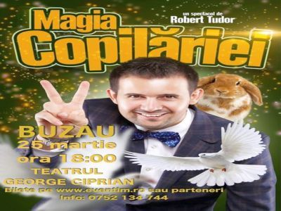 Spectacol magie Buzau