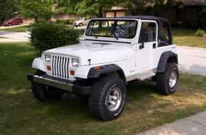 1994 JEEP WRANGLER 6CYL/AUTO w. hard top. 161 miles. 5,500..... This is pretty close to what I am wanting... But I'd prefer 97 & newer.... BUT I also want one made of metal... Not one made out of plastic &/or fiberglas... So in otherwords... Not too new...