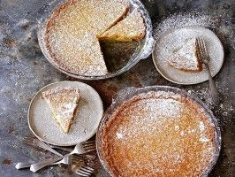 By far the most rich and decadent dessert I've ever had, but oh so sinfully delicious! Definitely one of those desserts where you can indulge in once in a blue moon with some tea -- Momofuku Milk Bar Crack Pie : Recipes : Cooking Channel