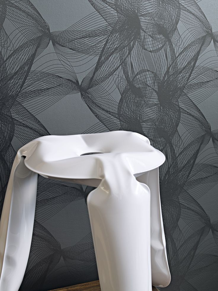 Wallpaper grey collection Motion - BN Wallcoverings