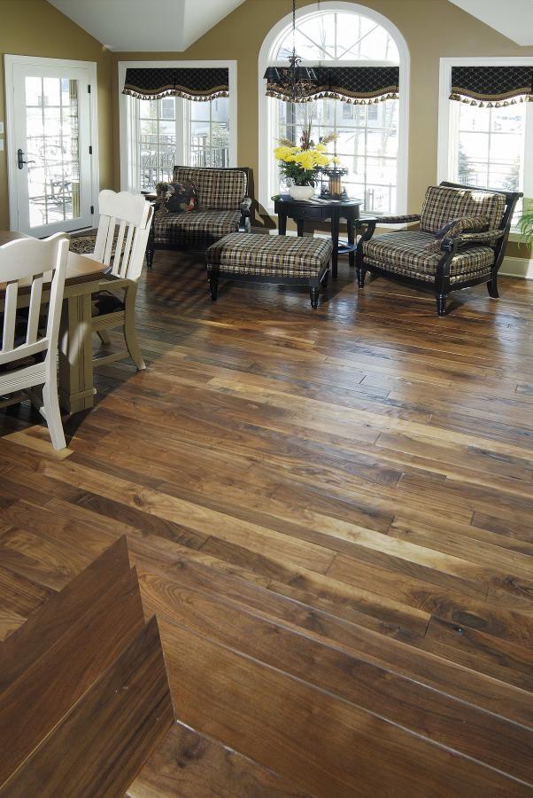 Best 25 rustic hardwood floors ideas on pinterest wood for Is it ok to put hardwood floors in a kitchen