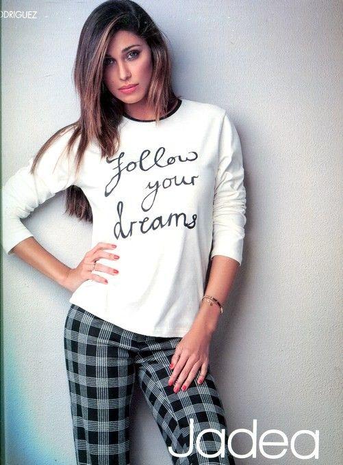 Pigiama Donna. Pigiama Jadea in Cotone invernale #pigiamidonna #jadea #belen