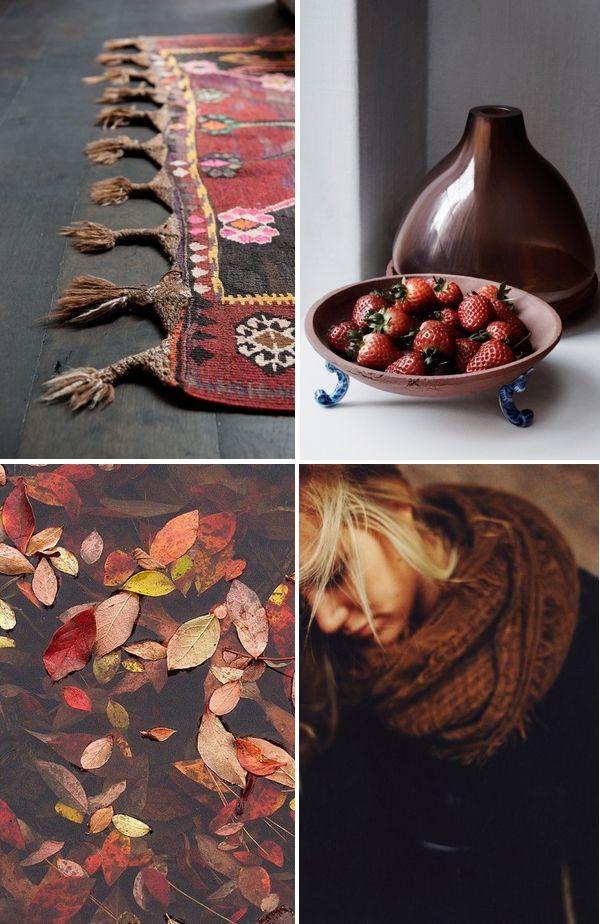 Autumn colours and notions   Cores e noções do outono