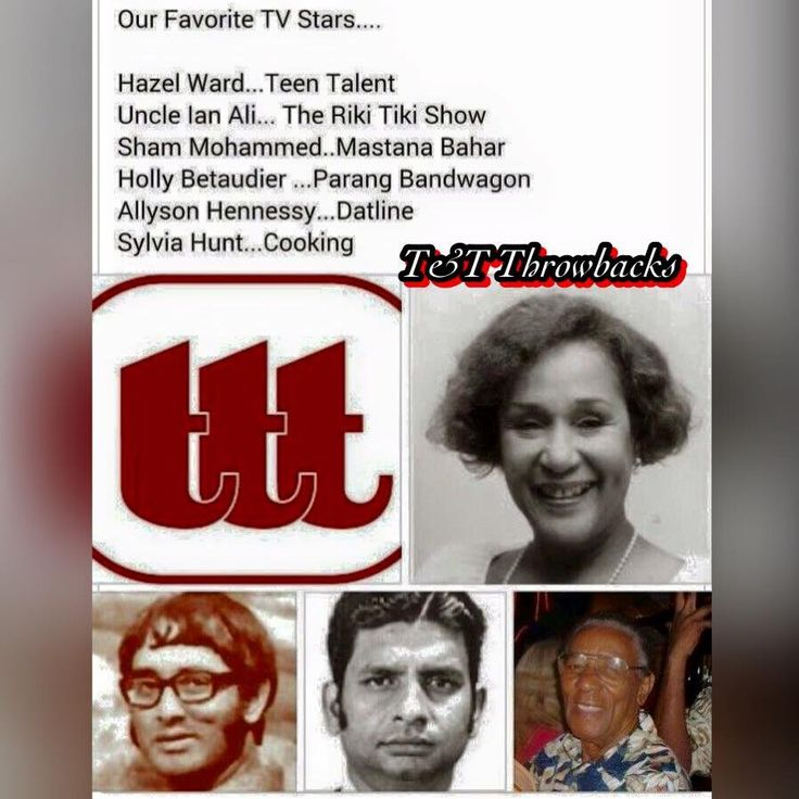 Tobago Island: Trinidadian And Tobagonian Television Icons In Culture