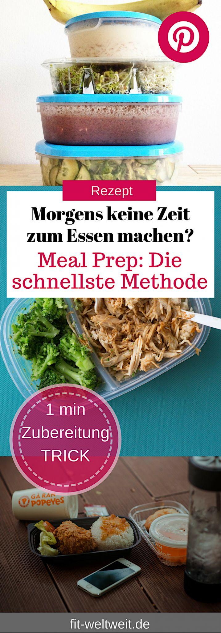 Meal Prep: Essen schnell zubereiten. Dieses Meal Prep ist für Anfänger. Einfache Rezepte (vegetarisch). Mit diesem Meal Prep kannst du auch abnehmen. Ohne großen Aufwand Essen zubereiten und Zeit sparen #MealPrep #Boxen #Rezepte