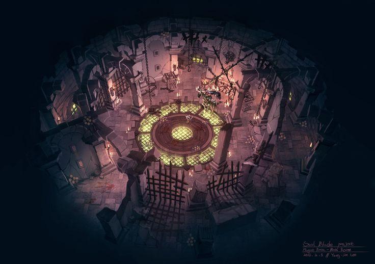 ArtStation - 'Blade' Concept Art - Theme03. Disease Prison, Arthur Lee