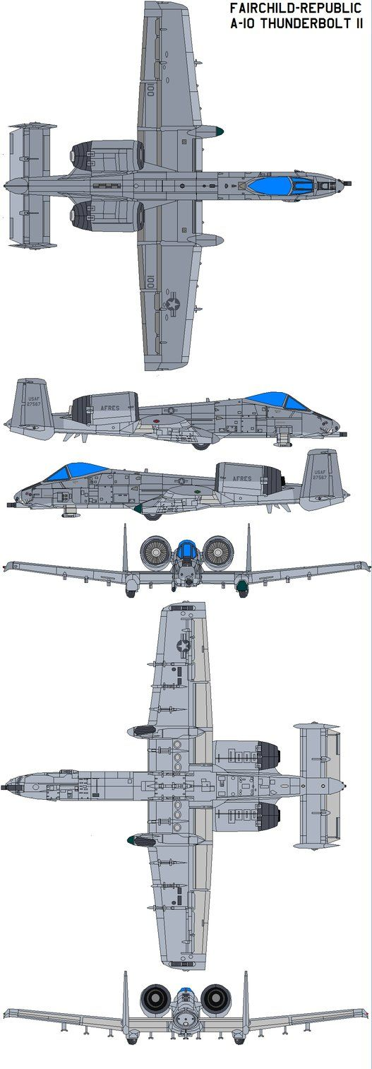 Fairchild-Republic A-10 Thunde by bagera3005