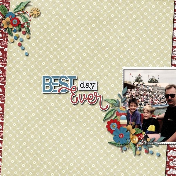 Layout by SassyScraps using Best Day Every by Meryl Barho https://scrapbird.com/designers-c-73/k-m-c-73_516/meryl-bartho-c-73_516_522/best-day-ever-combo-p-18580.html