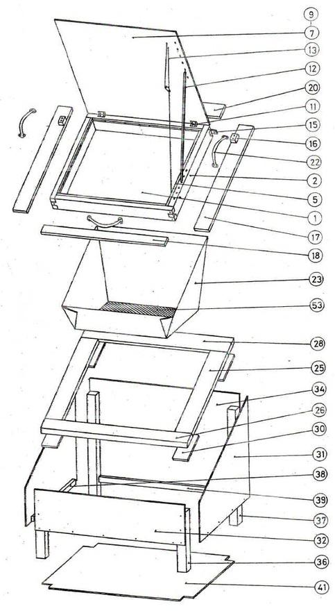 diagram  solar oven