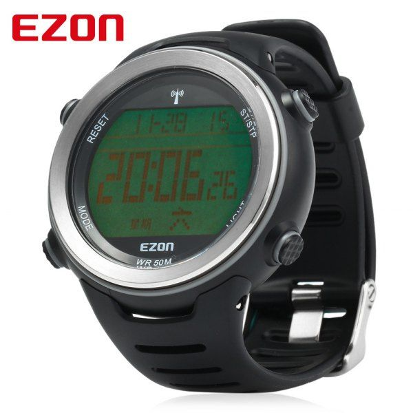 EZON L002 Radio Wave Calibrate Time Digital Men Sports Watch World Time Countdown Timer #>=#>=#>=#>=#> Click on the pin to check out discount price, color, size, shipping, etc. Save and like it!