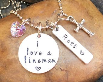 Lineman Wife Bracelet Lineman Wife Prayer by SweetAspenJewels