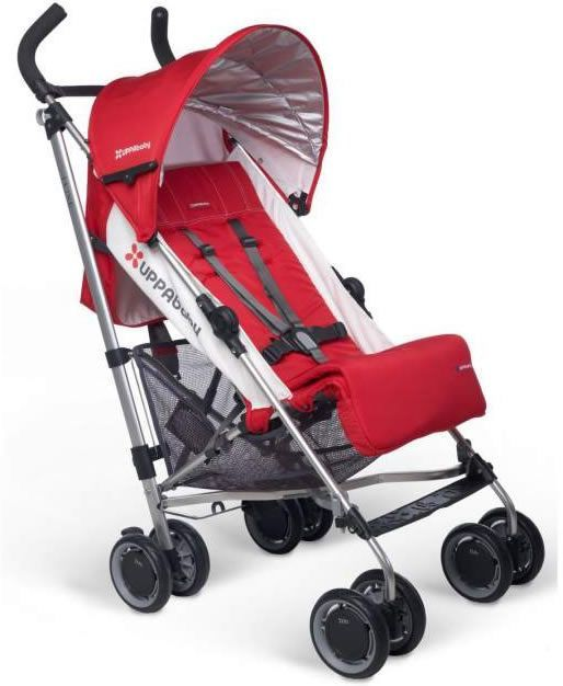 http://www.genderneutralbabyclothes.com/category/uppababy/ UppaBaby G-Luxe Stroller – Denny (Red)