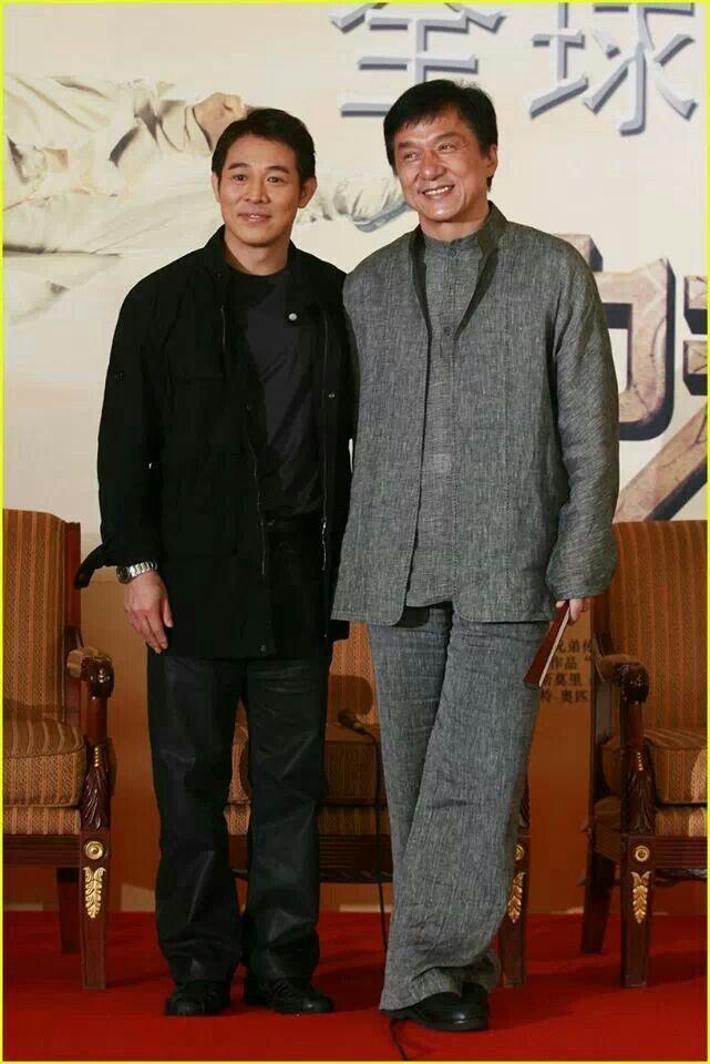 Jet Li & Jacky Chan