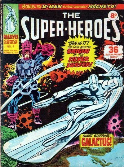 The Super-Heroes #2, Silver Surfer, origin