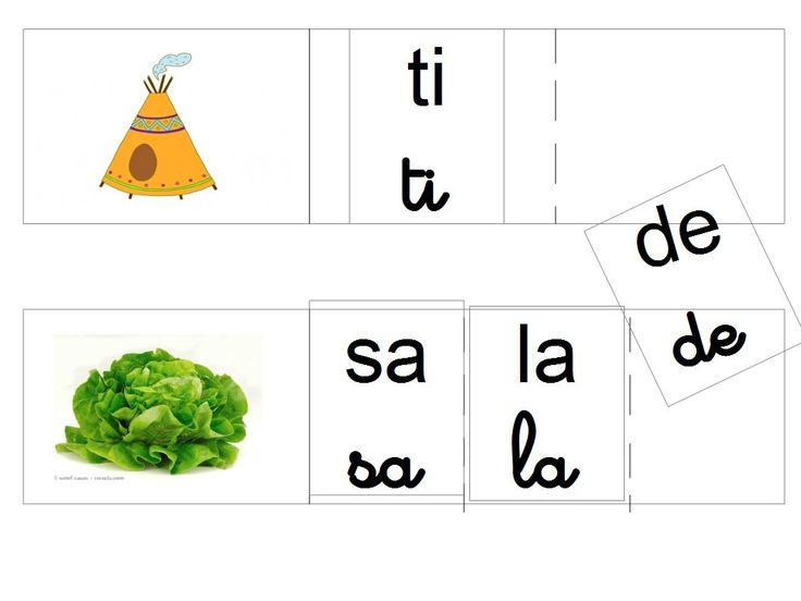 Dictée de syllabes muette
