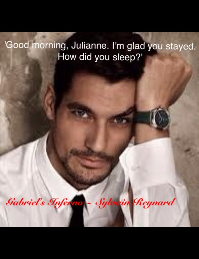 Good morning Julianne   Gabriels Inferno by @sylvainreynard