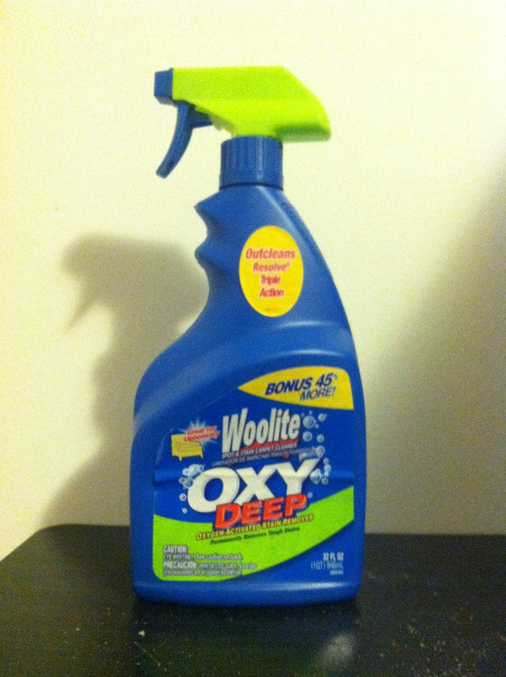 Duh woolite carpet stain remover gets stains out of