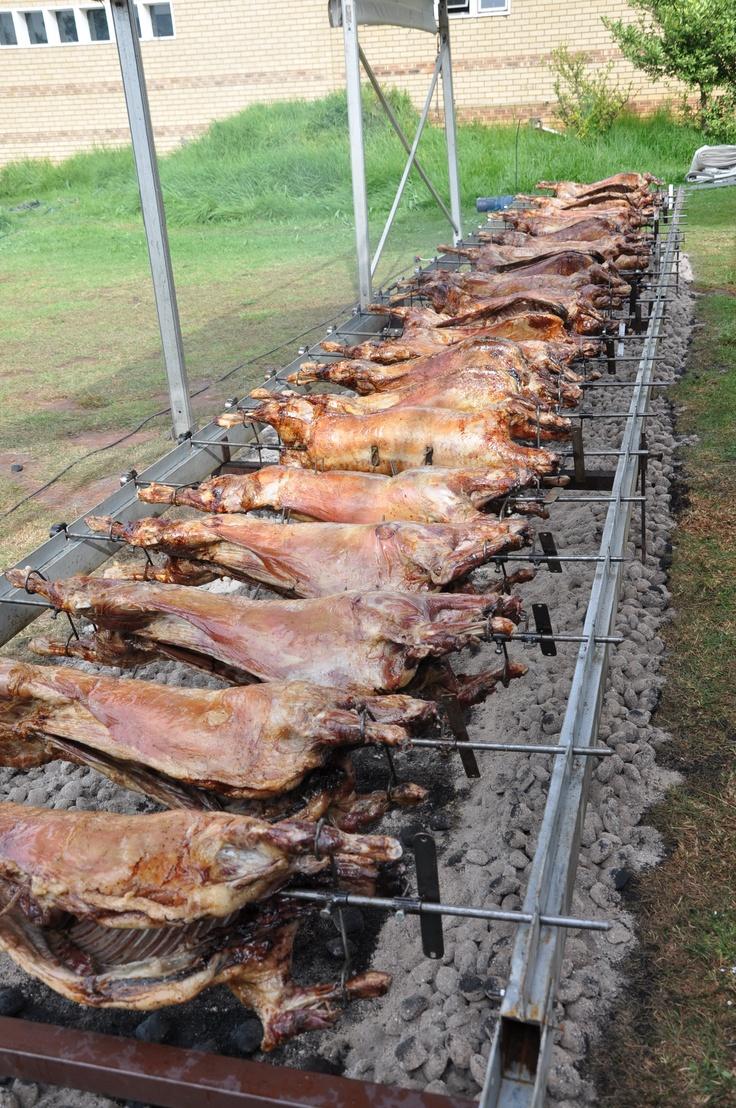 Proper Lamb On The Spit Greek Style Souvla Bbq Grill