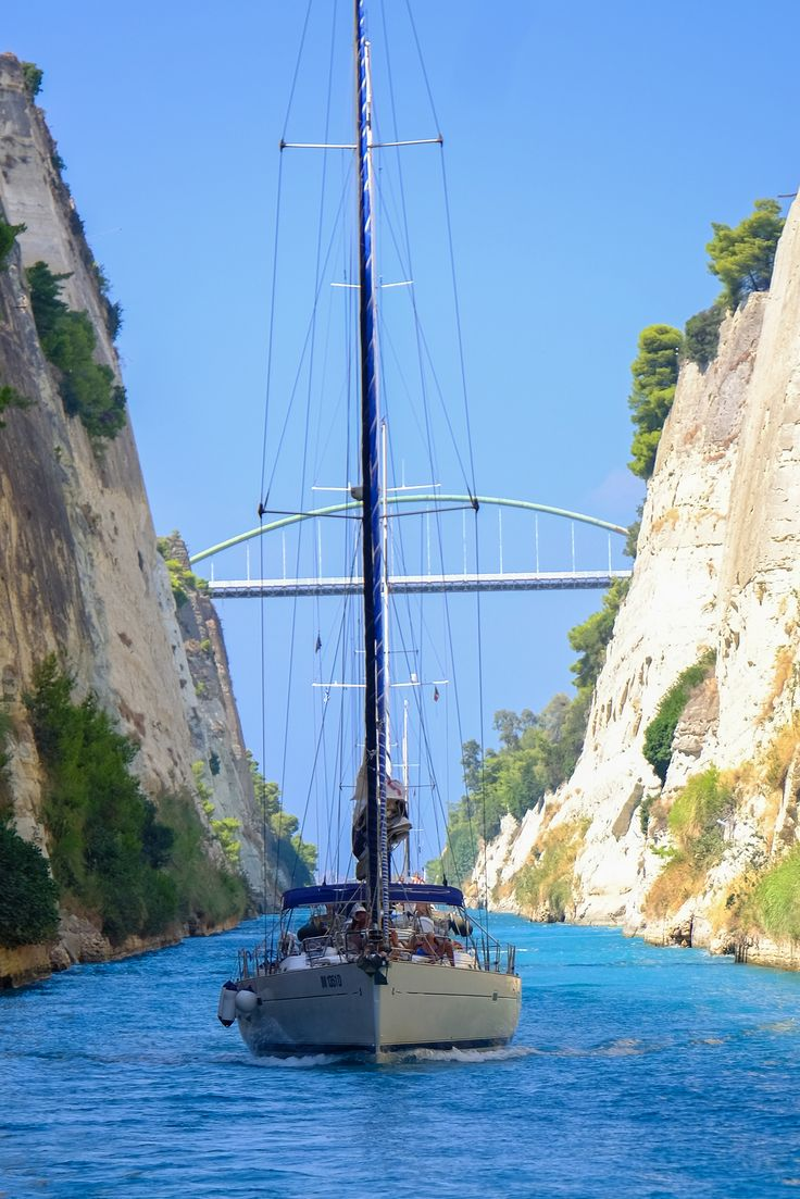 Corinth canal , Greece  | Flickr - Photo Sharing!