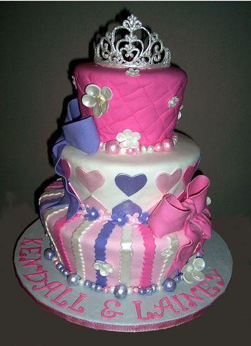 Princess Birthday Party Cake