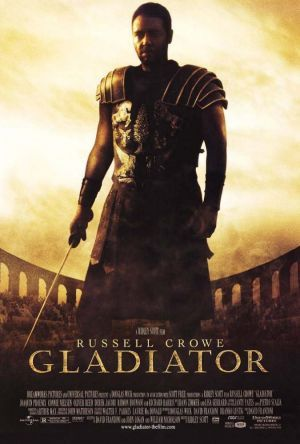 Gladiator movie. Russell Crowe did a good job in this one