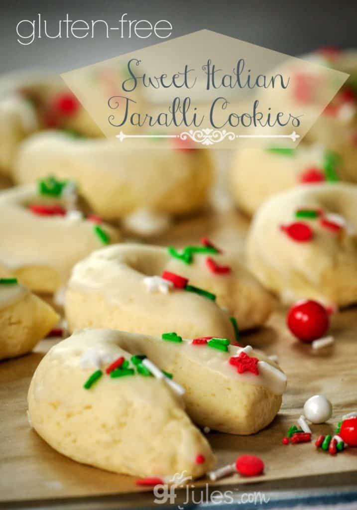 gluten free Sweet Italian Taralli Cookies gfJules.com