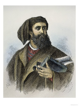 Marco Polo c.1254 Jan 8–9, 1324) was an Italian merchant traveler from the Republic of Venice. whose travels are recorded in a book which did much to introduce Europeans to Central Asia and China. He learned the mercantile trade from his father and uncle, Niccolò and Maffeo, who traveled through Asia, and apparently met Kublai Khan. In 1269, they returned to Venice to meet Marco for the first time. The three of them embarked on an epic journey to Asia, returning after 24 years.