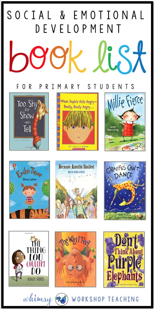 Early Childhood, Elementary, and Adolescent program books include the following:
