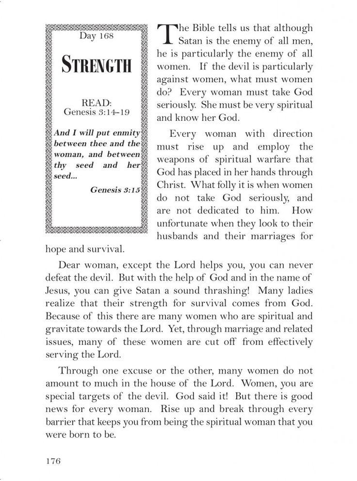 strength168 Daily devotional, Godly man, Spirituality