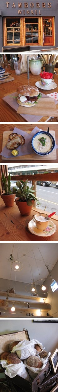 Something new to try.Tamboers Winkel: a cosy new kitchen just off Kloof Street, in Cape Town.