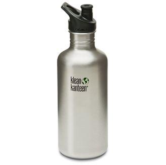 Super god drikkedunk med i stål fra Klean Kanteen.  Den er uopslidelig og du får et produkt med utrolig lang tids brug i sig. Hurtig dag-til-dag levering.