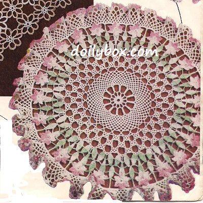 63 Best Free Crochet Floral Flower Patterns Images On Pinterest