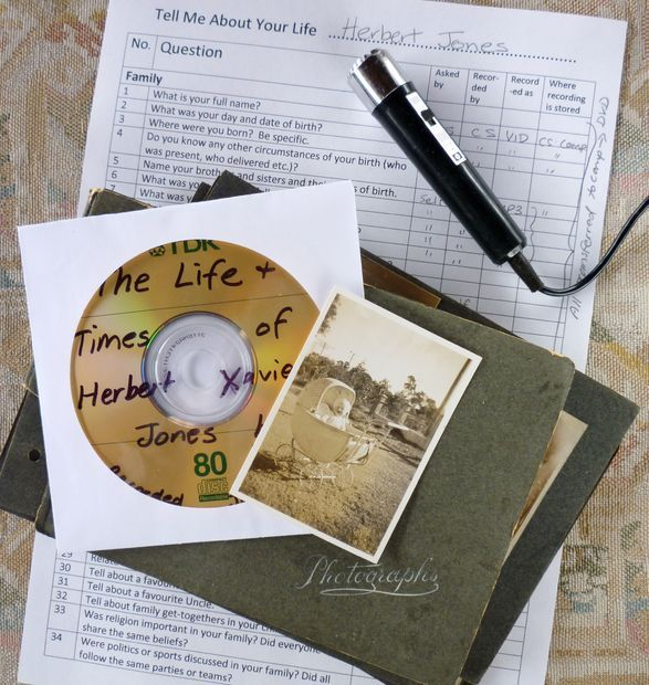 Picture of Record Your Family's Oral History- before it dies out.