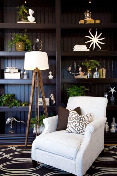 Built-ins decor-white accessories
