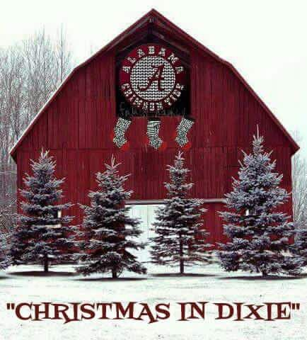 A Classy Crimson Tide Christmas.  This is BEAUTIFUL!
