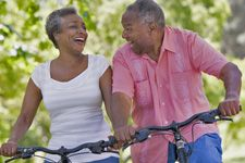 The four building blocks of senior fitness: cardio endurance, strength training, flexibility and balance.  Walking, yoga, tai chi, water aerobics, and chair-bound fitness routines are just a few kinds of activities beneficial to older adults.