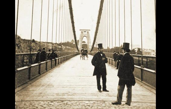 Clifton Suspension Bridge ca. 1865