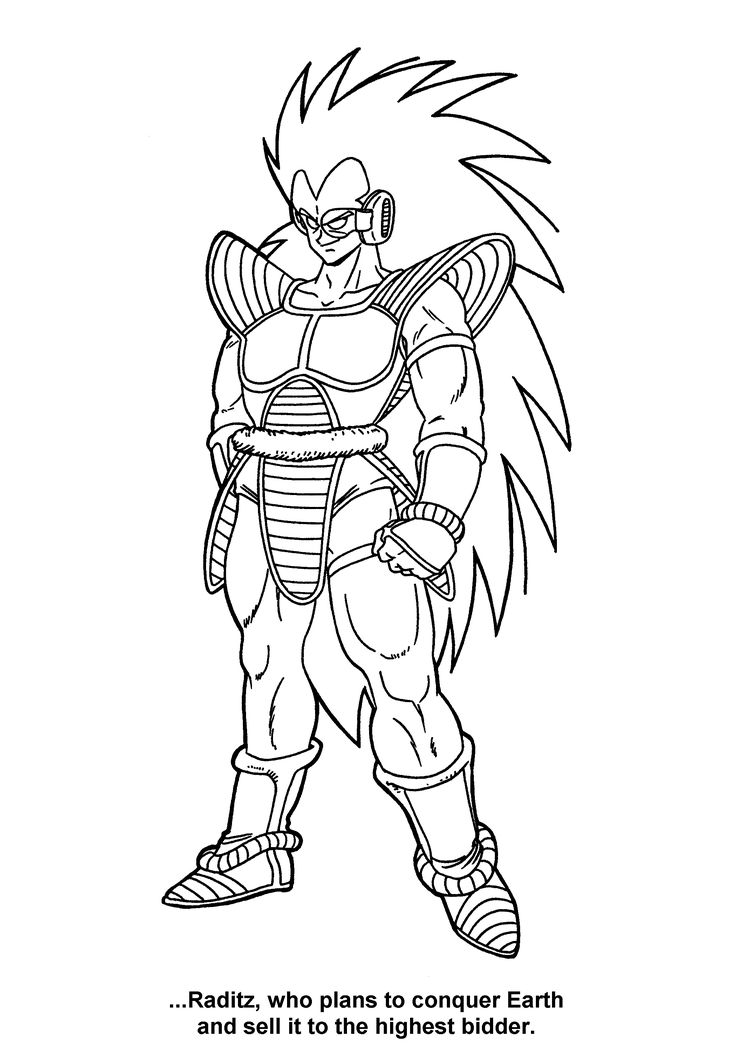 cool dragon ball z coloring pages | 195 best Coloring for Kids images on Pinterest | Coloring ...