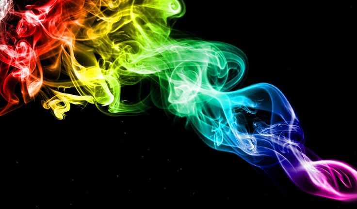 rainbow smoke wallpapers r - photo #7