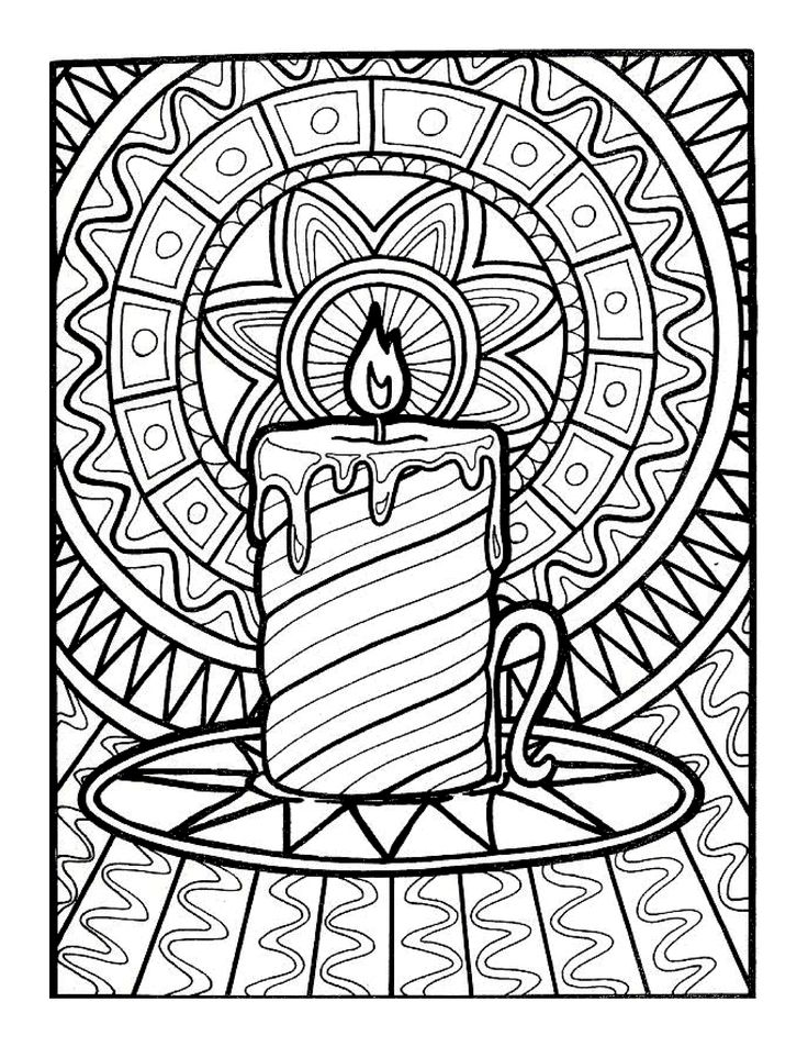 christmas doodle coloring pages for adults | 40 best LET'S DOODLE Coloring Pages! images on Pinterest ...
