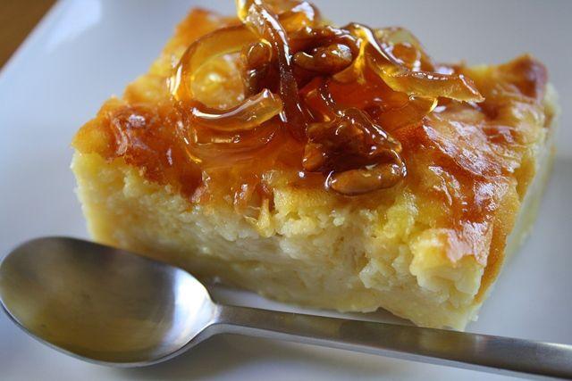 Portokalopita-narancsos görög desszert