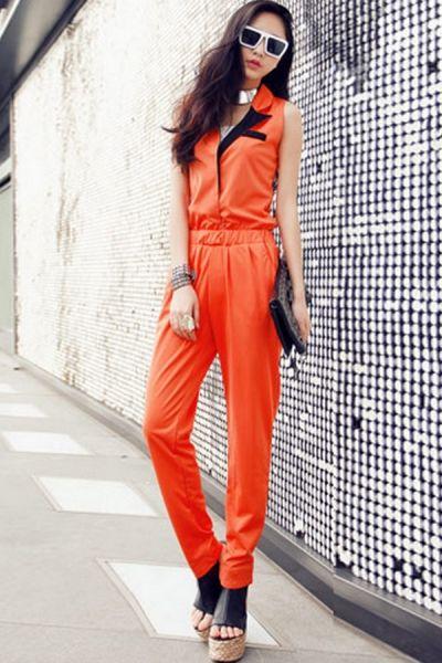 Perfect Jail Orange Jumpsuit  Polyvore