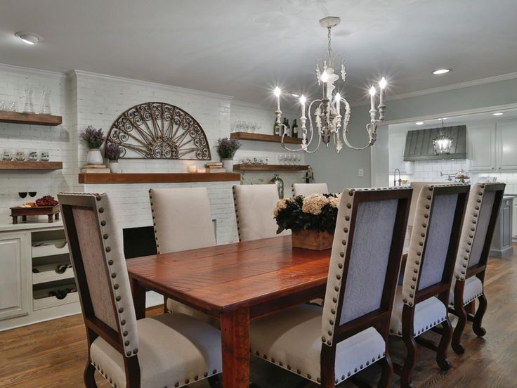 Creating French Country In The Texas Suburbs Dining RoomDining