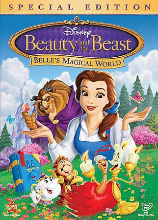 Beauty and the Beast: Belle's Magical World DVD Brand New & Sealed FREE Shipping