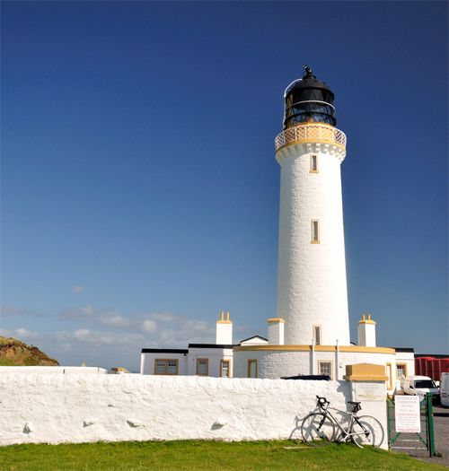 Lighthouse (built by Stevenson) at the Mull of Galloway. The most Southern Point of Scotland. Source  by = Paul Stevenson