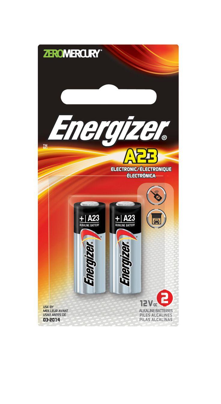 Energizer 12V A27 zero mercury alkaline 2/PK