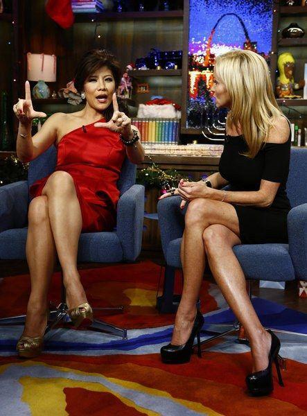 Julie Chen Legs Camille Grammer Photos Videos Links