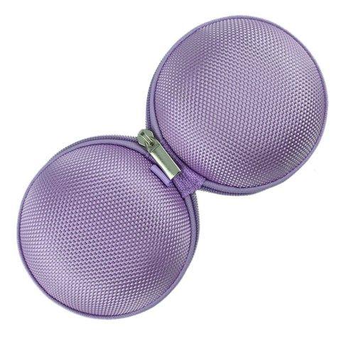 Anti-Druckaufbewahrungstasche für Kopfhörer / Ohrhörer (Purple)